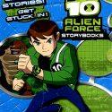 BEN 10 ALIEN FORCE STORY BOOKS BOX SET